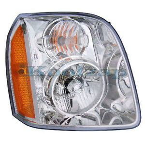 07 14 Yukon Xl Hybrid Headlight Headlamp Head Light Lamp Right Passenger Side