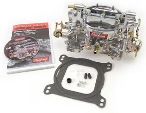 Edelbrock 1405 600 Cfm Square Bore Carburetor Manual Choke