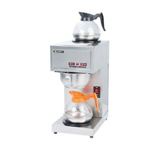 Adcraft Cbs 2 Single Brewer Pour Over 8 minute Brew Coffee Brewer