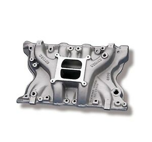 Weiand 8010 Action plus Intake Manifold Ford 351m 400 2v Heads