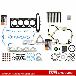 07 08 Gm 2 2l Ecotec Cobalt Hhr Malibu Full Gasket Set Head Bolt Kit Z22se L61