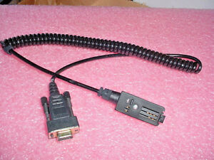 Motorola Nkn6505a Astro saber Radio Data Cable Rs 232 To Computer Serial Port