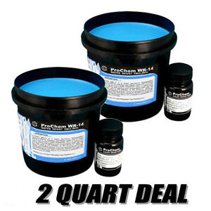 Cci Prochem Wr 14 Emulsion For Plastisol And Water base Ink 2 Qts Free Shipping