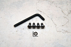 Anti Theft Black Nickel Security Screws For Bmw Front License Plate Frame