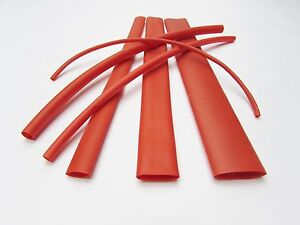6ft Red Heat Shrink Tube Assortment 3 1 Dual Wall Adhesive Glue Line Marine to