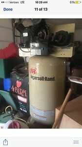 Ingersoll rand Model 2475 N7 5 230 3fp Air Compressor 80 Gal Industrial