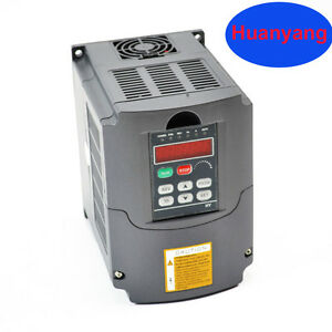 Huan Yang Brand 110v 2 2kw Vfd Variable Frequency Drive Inverter For Cnc