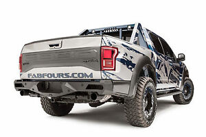 Fab Fours Ff17 E4351 1 In Stock 50 Back Vengeance Bumper 17 19 Ford Raptor