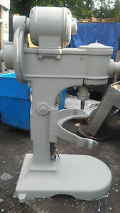Antique Hobart M 800 80qt Mixer With 40qt Bowl Reducer And Attachments 1 Phase