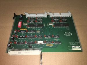 Nordson Serial Port Interface Pc Board 115877b Used Warranty