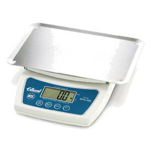 Edlund Dfg 160 Digital Portion Scale With Large Lcd Display 160 Oz