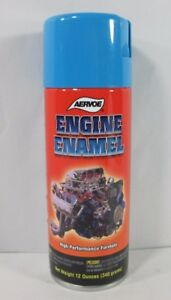 Aervoe 568 Engine Enamel Paint Chrysler Blue 12 Oz Can