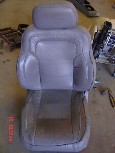 93 95 Jeep Grand Cherokee Grey Leather Limited Left Front Drivers Seat Lh