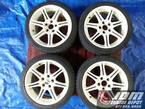 02 05 Honda Civic Type R Ep3 17 5x114 3 Wheels With Tires Jdm K20a 114