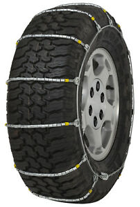 235 80 18 235 80r18 Cobra Jr Cable Tire Chains Snow Traction Suv Light Truck Ice