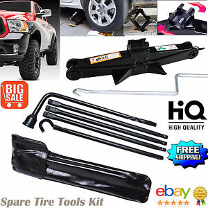 For 2002 15 Dodge Ram 1500 Spare Tire Lug Wrench Tool With Scissor Jack Us Ship