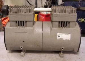 Rietschle Thomas Piston Air Compressor Vacuum Pump 115 Vac 10 4 Amp 2807ce72