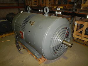 500 Hp Louis Allis Electric Motor 720 Rpm 8095su Frame Tefc 460 V