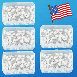 500pcs Dental Prophy Tooth Polish Polishing Cups Webbed Latch Type Rubber White