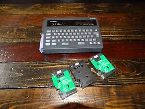 18469 Brother P touch Label Maker Model Pt 20 With 4 Tapes