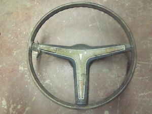 Original Chevy Steering Wheel Gm Firebird Camaro Gto 67 68 69 70 71 72 73 74 75