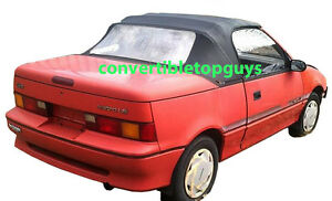 Geo Metro Convertible Top Do It Yourself Package 1990 1993