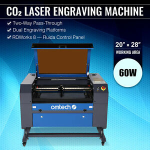 Upgraded Co2 Laser Engraver 60w 28 20 Cutter Cutting Engraving Marking Machine