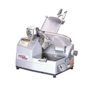 Turbo Air Gs 12a German Knife Gear Driven Premium Automatic Food Slicer