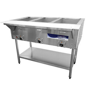 Turbo Air Rst 3p Radiance Electric Hot Food Steam Table With 3 Wells