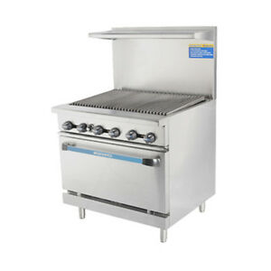 Turbo Air Tar 36rb lp Radiance 36 Lp Gas Restaurant Range W Standard Oven Base