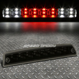 For 94 02 Ram Pickup Tinted 2 Rows Led Third 3rd Tail Brake Light W Cargo Lamp
