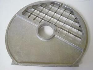Commercial Robot Coupe Part Disc R4 R428 8x8 8mm Ultra Dicing Grid Plate Great