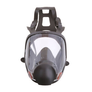 Single Full Face Respirator Gas Mask Visor Paint Chemical Formaldehyde
