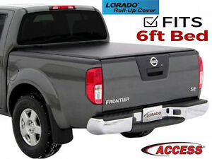 Access Lorado Tonneau Bed Cover Fits 2005 2019 Nissan Frontier 6 Ft