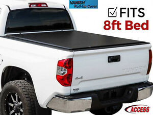 Access Vanish Roll Up Tonneau Cover Fits 2008 2013 Chevy Silverado Sierra 8 Ft