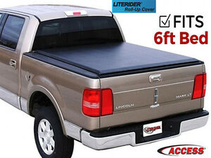 Access Literider Tonneau Bed Cover fits 2005 2017 Nissan Frontier 6 Ft