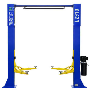A 9 000 Lb Over Head L2910 2 Post Lift Car Auto Truck Hoist Inquiry Shipping