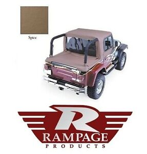 Rampage Full Cab Enclosure Tonneau Cover Spice 92 95 Jeep Wrangler Yj 993017