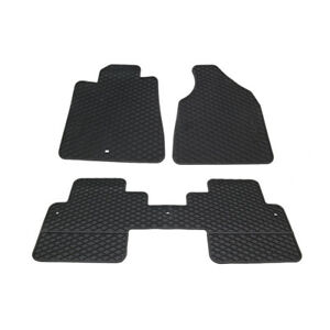 Oem New Front Rear 2nd Row All Weather Floor Mat Set Black 07 14 Gmc Acadia
