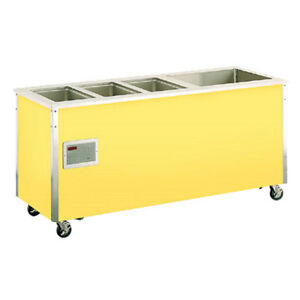 Vollrath 36195 74 w Signature Server Hot cold Food Station W Stainless Counter