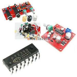 Pt2399 Dip Sop Ne5532 Microphone Amplifier Board Reverberation Panel Ic Suite