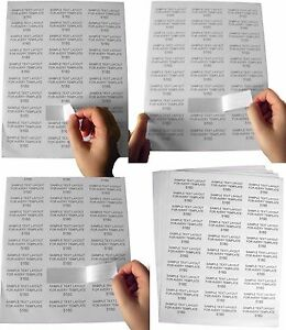 100 Sheets 3000 Labels Fba 1 X 2 5 8 Address Mailing Labels 30 Up 1 X 2 625