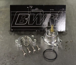 Blackworks Racing Adjustable Fuel Pressure Regulator Honda Acura Silver