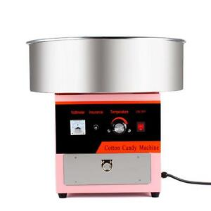 Electric Cotton Candy Machine Commercial Sugar Candy Floss Maker Party Carnival
