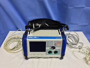 Zoll M series Spo2 Ecg Pacing Biphasic biomed Tested