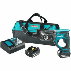 Makita Xrh03t 18 volt 7 8 inch 5 0ah Cordless Lithium ion Rotary Hammer Kit
