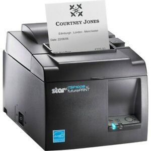 Star Micronics Tsp100iii Direct Thermal Monochrome Printer Usb Gray