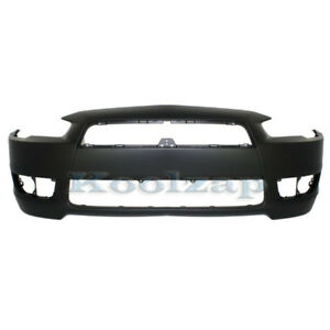 Capa 08 15 Lancer Front Bumper Cover Without Air Dam Hole Mi1000324 6400d172
