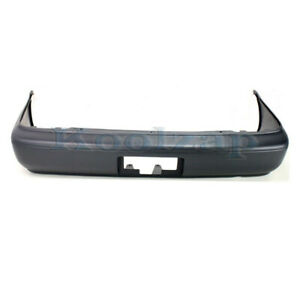 Capa For New 93 97 Corolla Sedan Rear Bumper Cover Assembly Primed To1100174