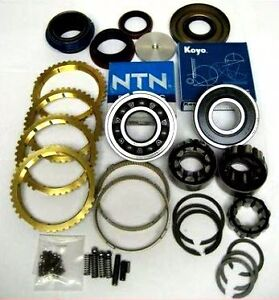 Transmission Rebuild Kit Jeep 5 Speed Nv3550 33mm Od Cluster Journals Bk235fws